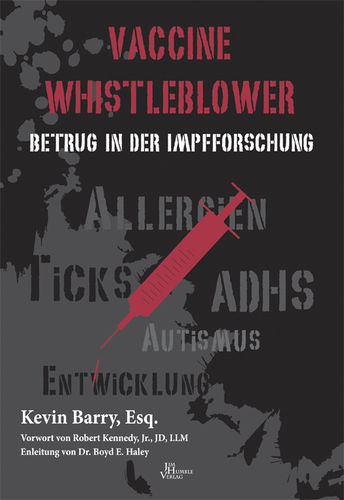 VACCINE WHISTLEBLOWER - Kevin Barry, Esq.