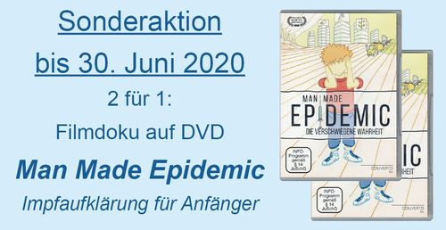 2-für-1: Film-Doku MAN MADE EPIDEMIC